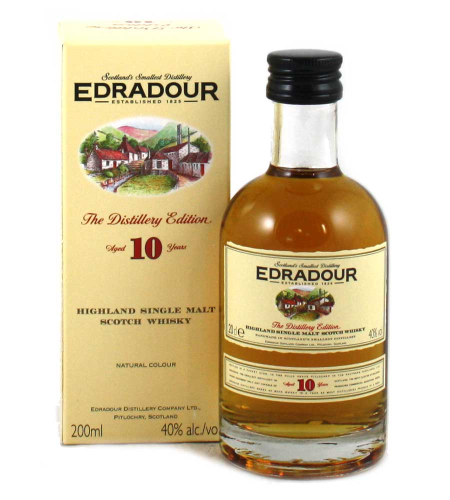 Edradour 10 Year Old Whisky - 20cl