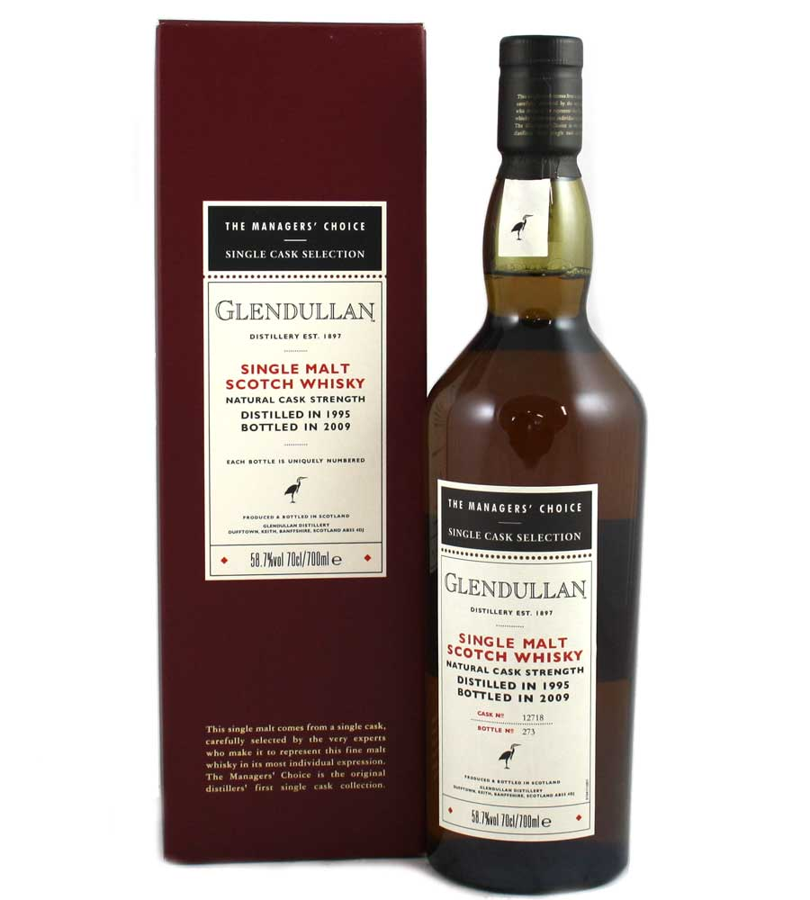Glendullan 1995 The Managers Choice 58.7%