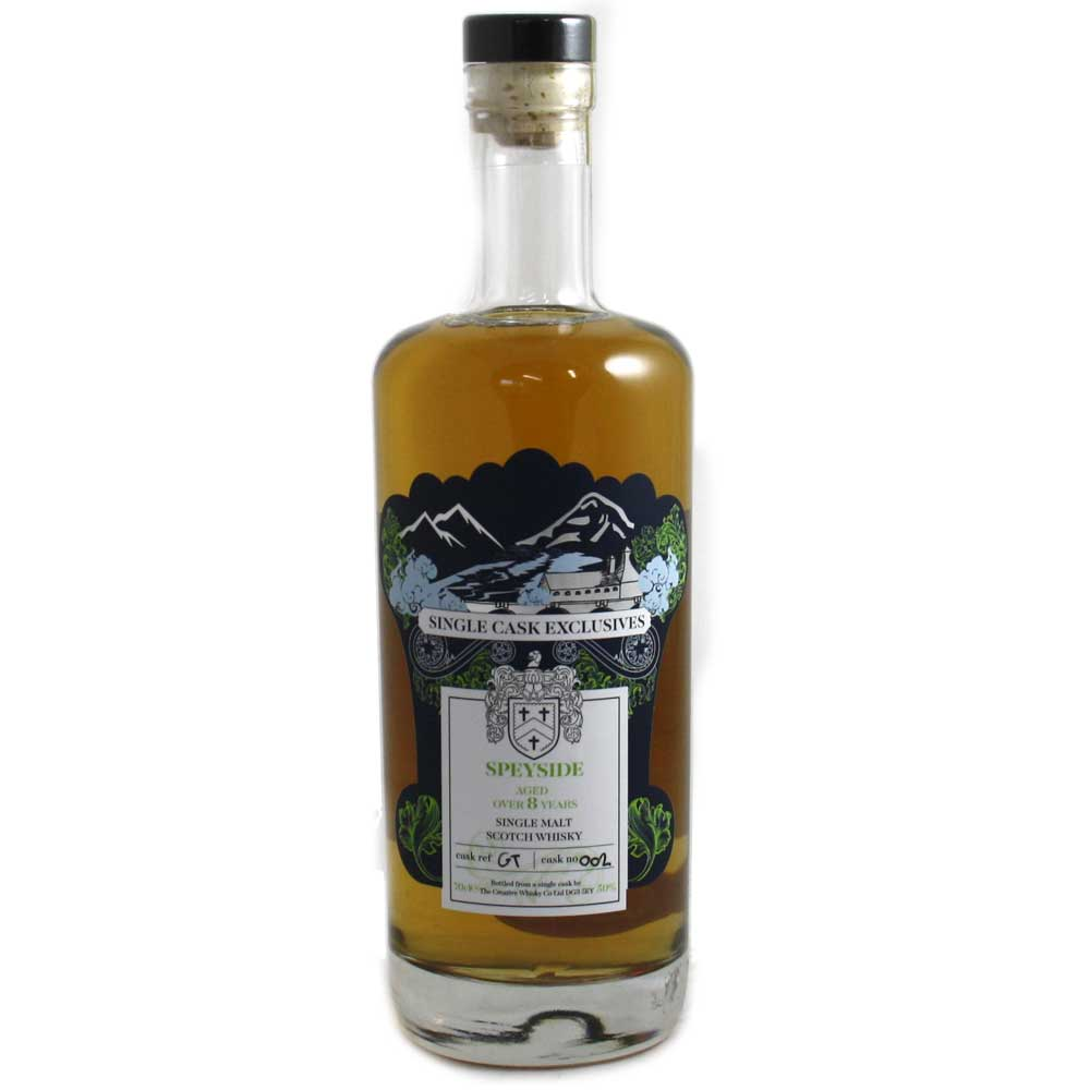 Glentauchers 8 Year Old - #002 Creative Whisky Co