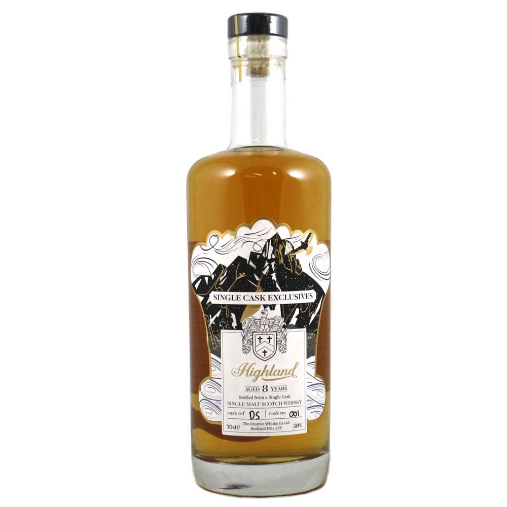 Deanston 8 Year Old Cask #001 Creative Whisky Co