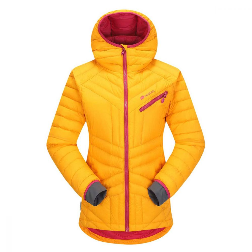 Skogstad Retelen Women's Down Jacket, Papaya Orange