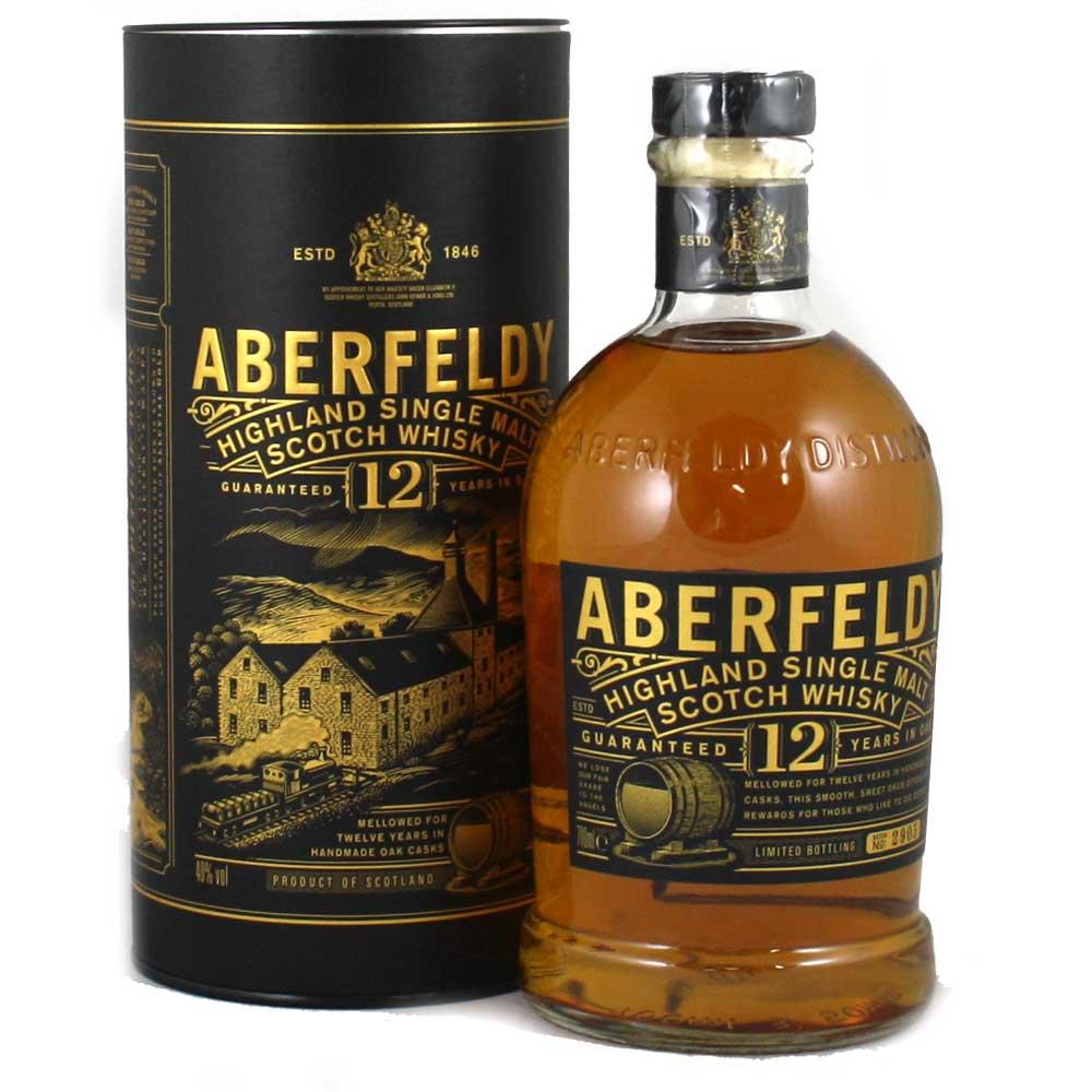 Aberfeldy 12 Year Old - 2014 Packaging