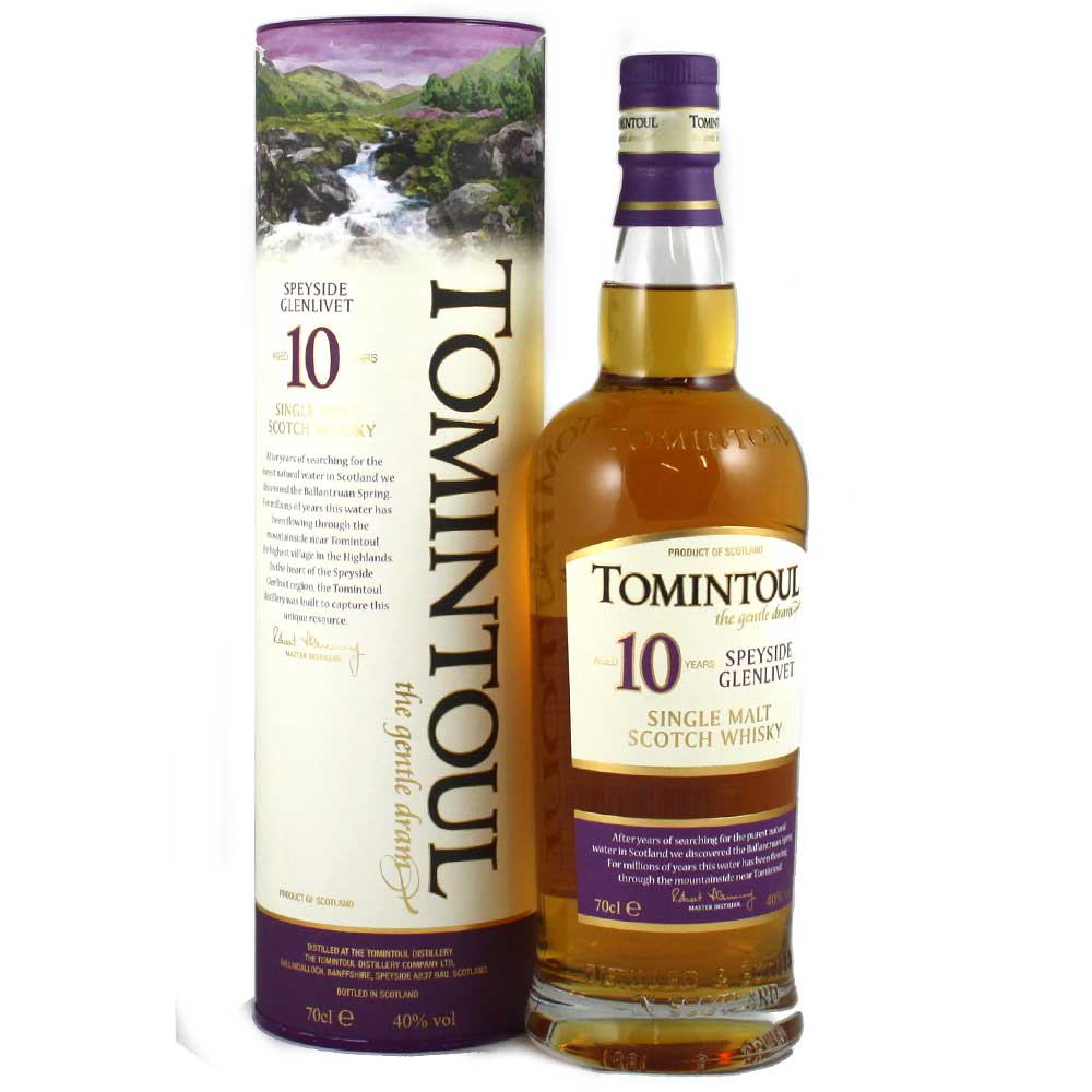 Tomintoul 10 Year Old Whisky