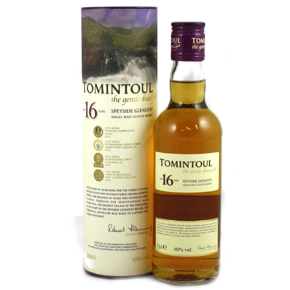 Tomintoul 16 Year Old Whisky - 35cl