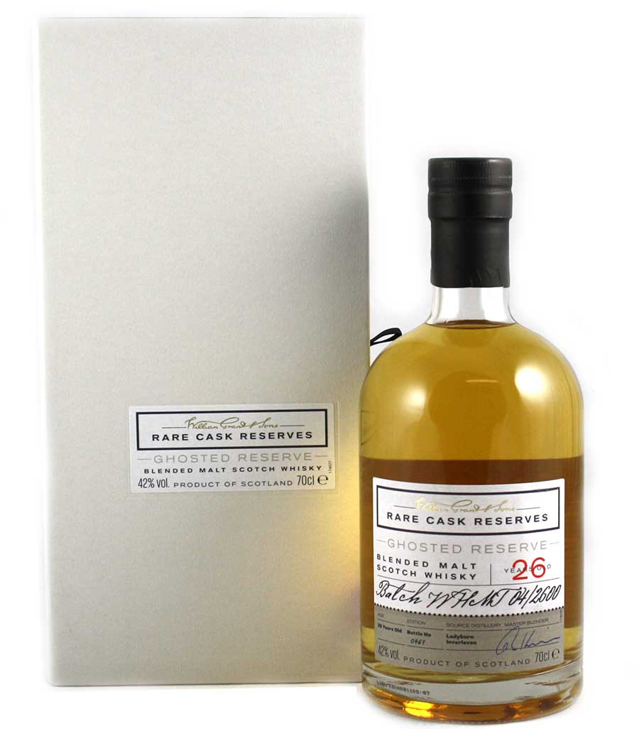 Ghosted Reserve - Ladyburn / Inverleven 26 Year Old