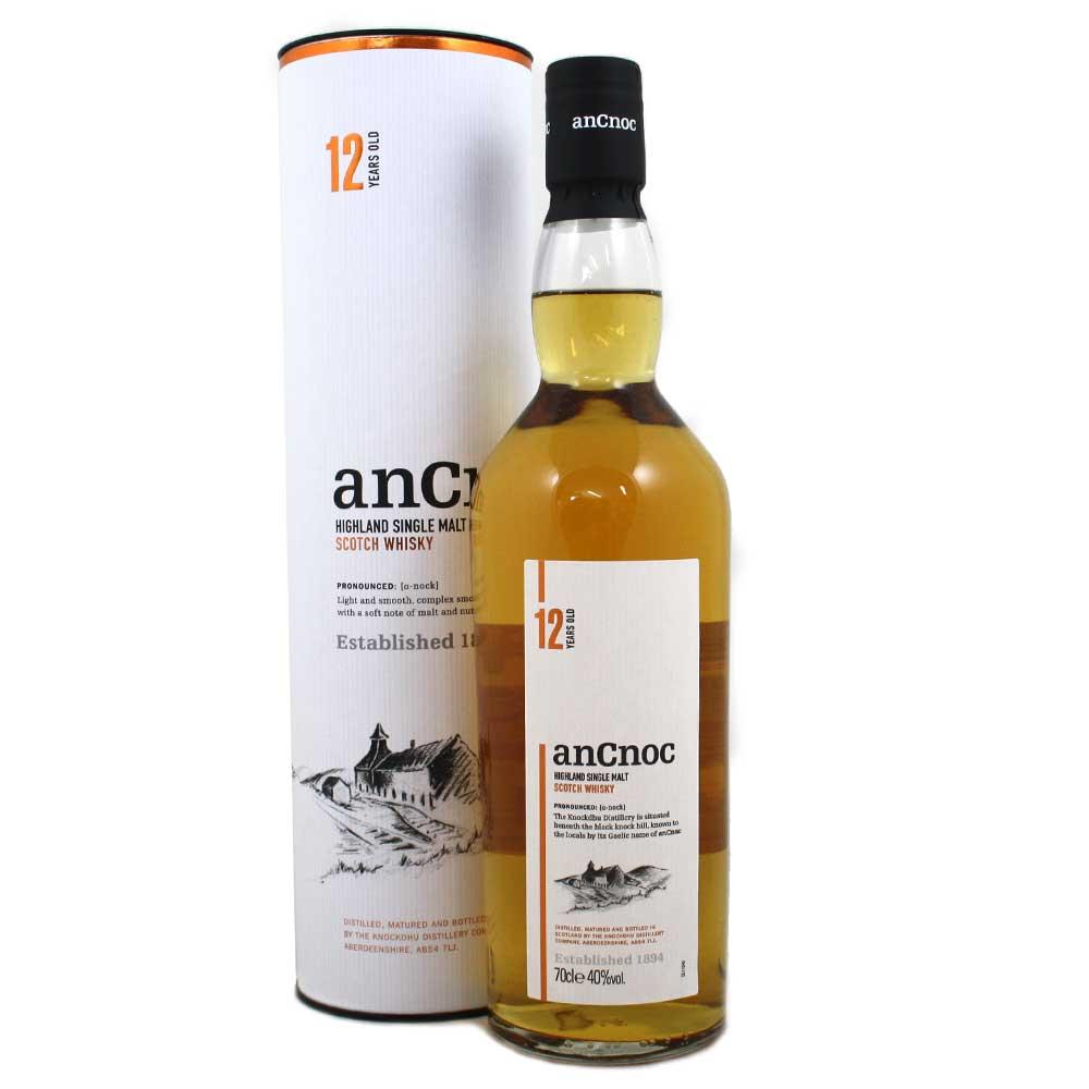 An Cnoc 12 Year Old Single Malt Whisky