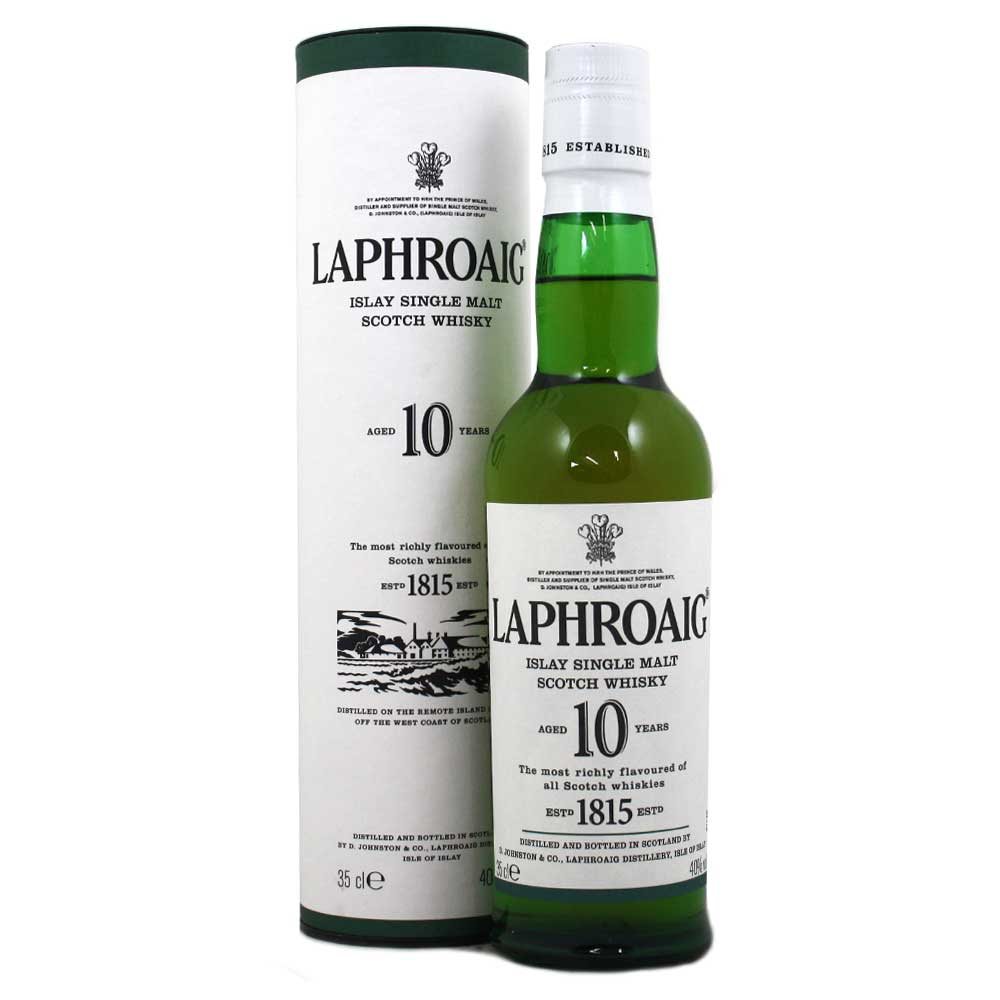 Laphroaig 10 Year Old Whisky - 35cl