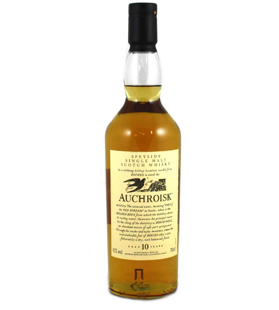 Auchroisk Flora and Fauna 10 Year Old Whisky