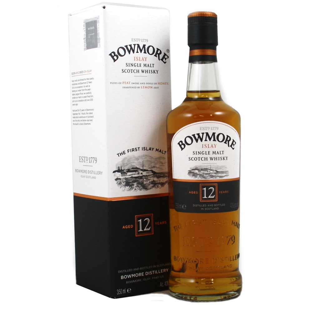 Bowmore 12 Year Old Whisky 35cl Half Bottle