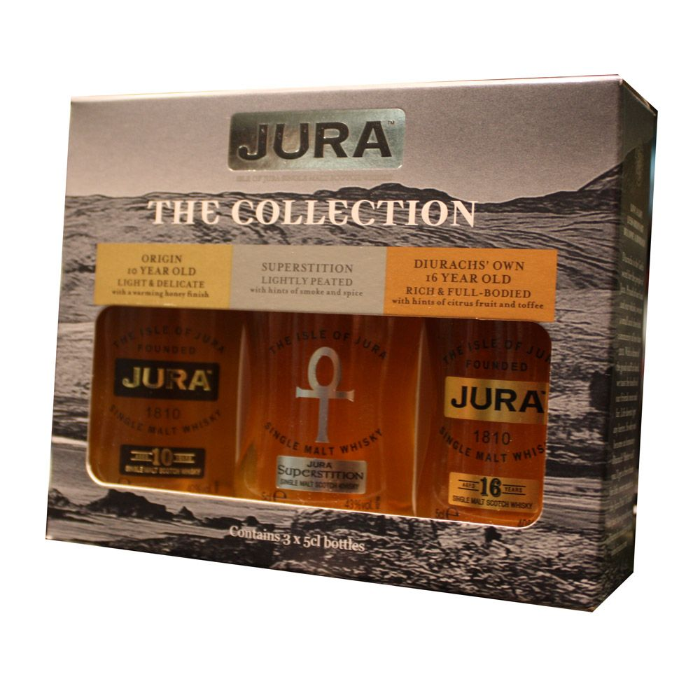 Isle of Jura / The Collection Gift Pack / 3x5cl
