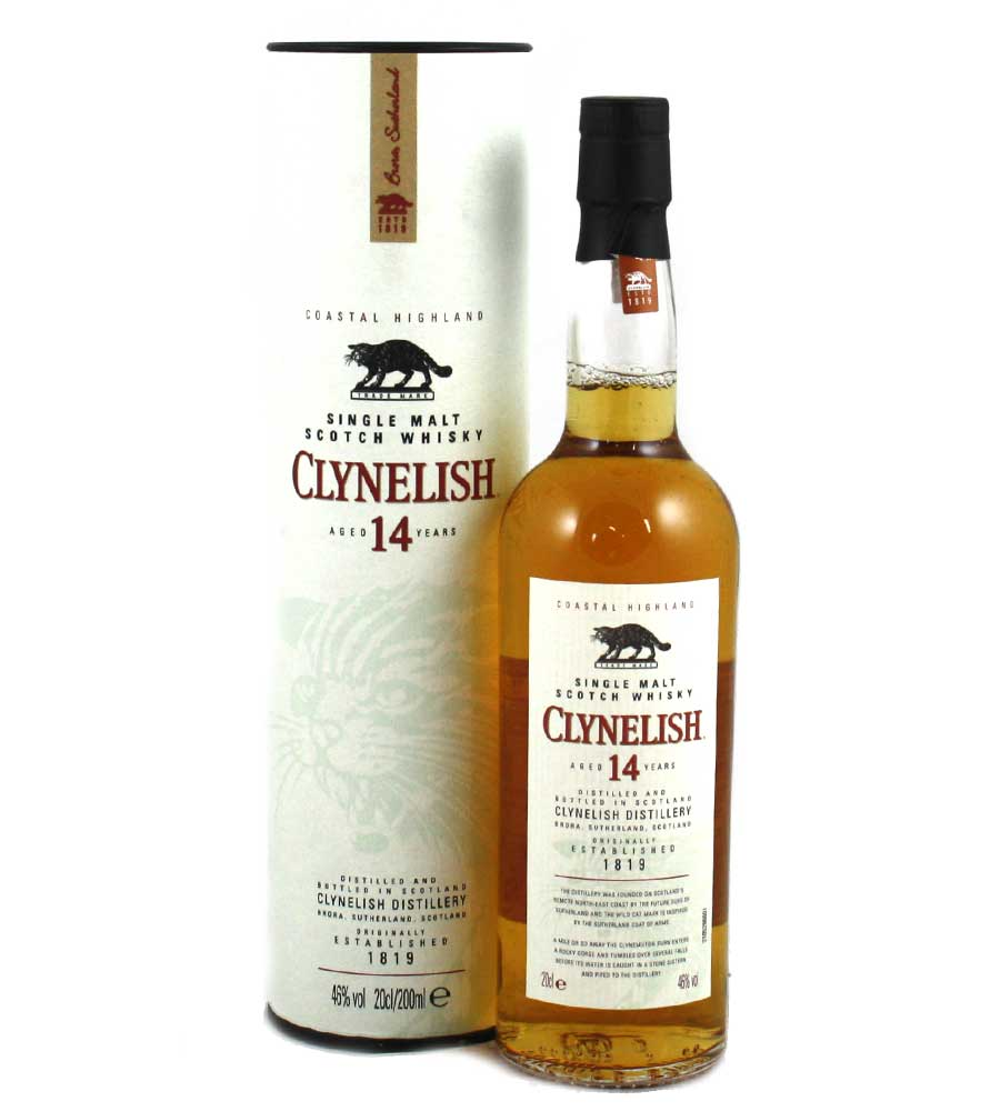 Clynelish 14 Year Old Whisky - 20cl