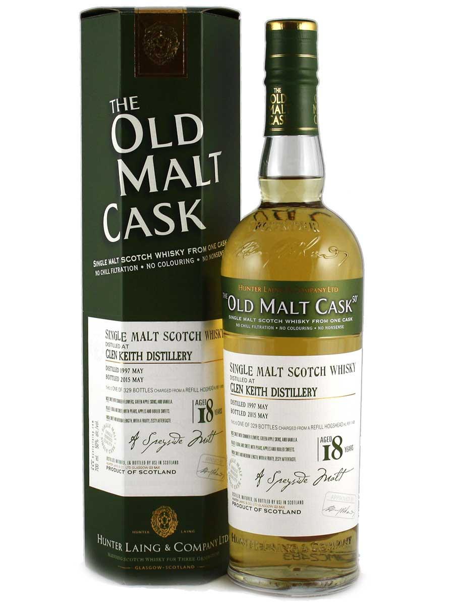 Glen Keith 1997 Old Malt Cask 18 Year Old