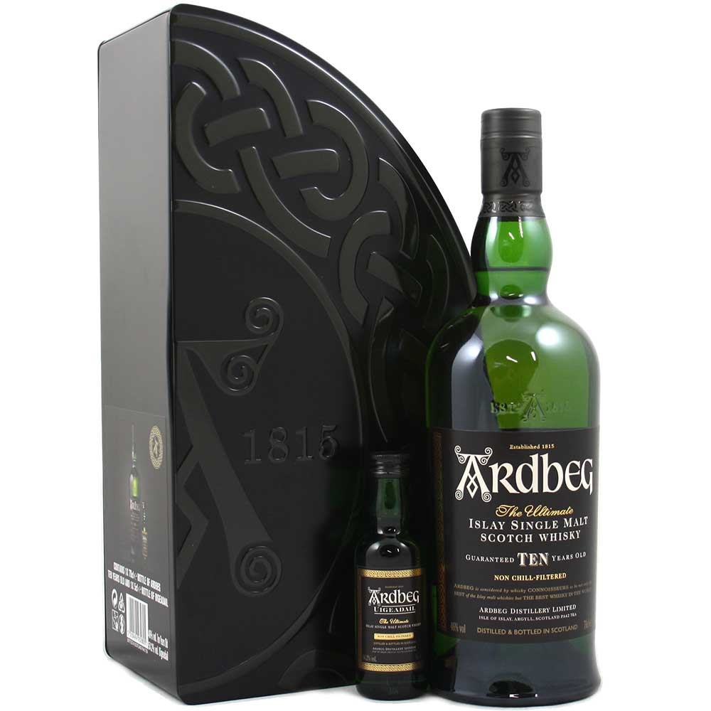 Ardbeg Gift Pack with Uigeadail Miniature