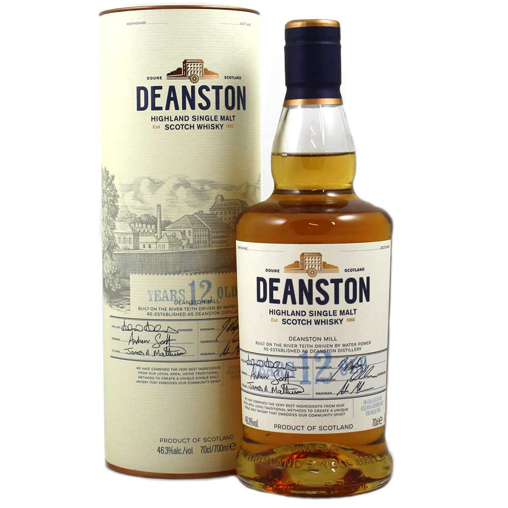 Deanston 12 Year Old Whisky