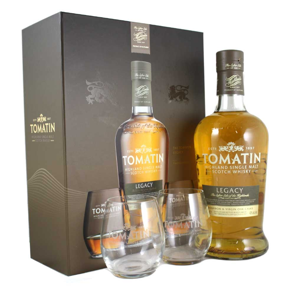 Tomatin Legacy Gift Pack