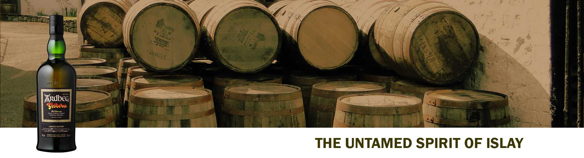 Ardbeg Distillery - The untamed spirit of Islay
