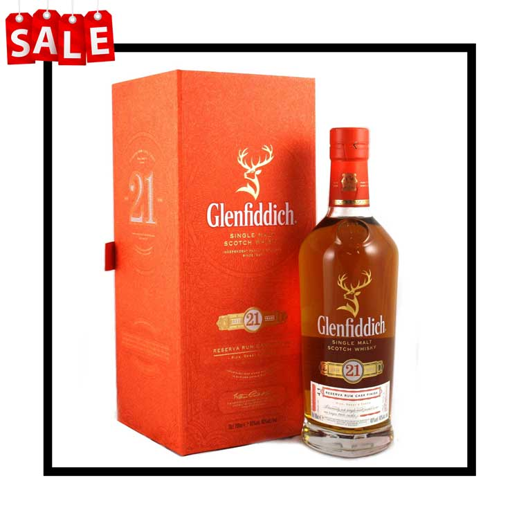 Glenfiddich 21 Year Old Rum Cask